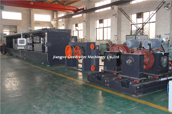 flat or shaped wire precision rolling mill